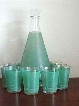 Service carafe et 8 verres
