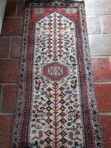 Lot de 2 TAPIS artisanaux Shiraz d' Iran