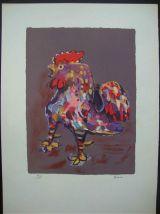 Tableau - Lithographie ancienne de Bosco