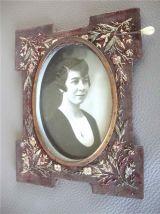 Tableau - Photo de jeune femme années 30