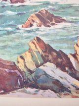 Tableau Pointe de Corsen Bretagne