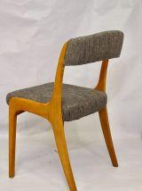 Set de 6 chaises réf: gondole Baumann année 70 restaurées.