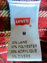 superbe chemise LEVI'S , chaude et confortable