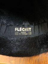 ANCIEN CHAPEAU CLOCHE FLECHET ANNÉE 40-50