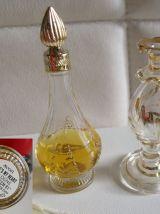5 flacons  parfums vintage, AVON , AUBUSSON, vaporisateur