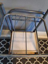 chevets d'internat chaises des années 50