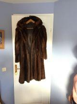 Manteau de fourrure de vison