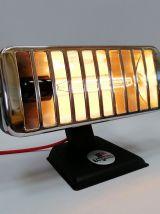 "Lampe vintage, lampe industrielle - ""Black Thermor"""