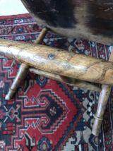Fauteuil anglais en bois début XXème
