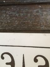Ancien miroir numéroté «Mucha»
