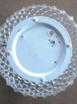 Plafonnier ou applique verre