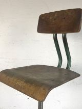 Tabouret Haut d'architecte vintage 60's