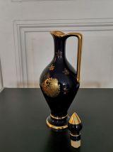 Lot de vases en porcelaine de Limoges 19ème