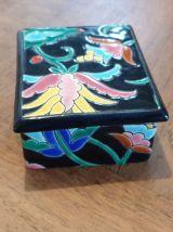 Emaux de Longwy, boîte à bijoux