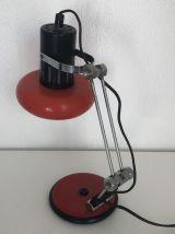 Lampe d'architecte Aluminor tomate vintage 1960 - 35 cm