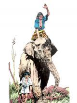 BD Elephant boy 1974