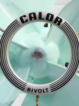 Ventilateur Calor Bivolt vintage vert d'eau