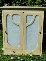 Ancienne armoire de toilette art nouveau
