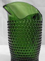 Pichet à bulles vert bouteille
