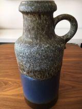 Vase vintage céramique Scheurich 36 cm