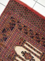 Tapis vintage Turkmène fait main, 1C232