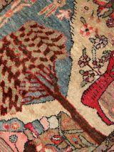 Tapis ancien Oriental fait main, 1C248