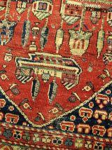 Tapis ancien prière Turc Anatolian fait main, 1B31