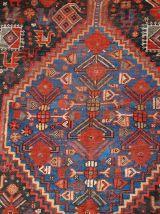 Tapis ancien Oriental fait main, 1B193