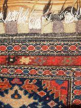 Tapis ancien Oriental fait main, 1B334