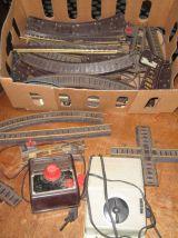 Lot train électrique 1950 / 70