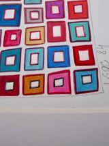 Carrés et couleurs 1