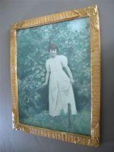 Cadre photo portrait de fillette