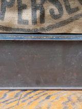 Boite publicitaire en tôle lithographiée - Epoque Art déco