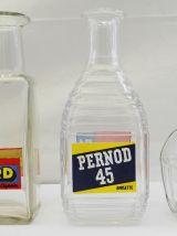 Carafes Ricard et Pernod