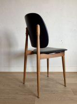 Suite de 6 chaises Pégase de chez Baumann vintage années 60