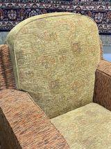 Paire de fauteuils Art déco des années 1930