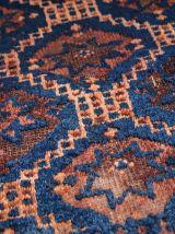 Tapis sacoche ancien Afghan Baluch fait main, 1C360
