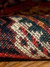 Tapis ancien Oriental fait main, 1B354