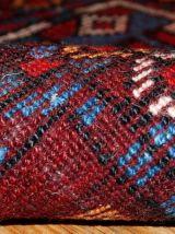 Tapis ancien Oriental fait main, 1B419