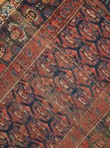 Tapis ancien Oriental fait main, 1B431