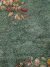 Tapis ancien Chinois Art Deco fait main, 1B455