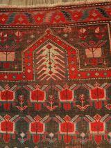 Tapis ancien Caucasien Karabagh fait main, 1B476