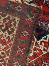 Sac antique Afghan Baluch fait main double fait, 1B486