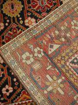 Tapis ancient Caucasien Karabagh fait main, 1B490