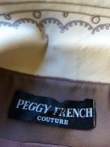 robe + veste vintage 60s créatrice Peggy French