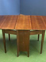 Table pliante anglaise des années 70