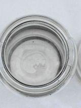 3 Pots en verre anciens 1 et 2 L