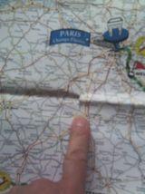 Carte Le Tour de France 1998 Michelin