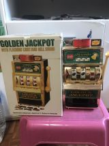 Machine à sous Golden Jackpot de collection vintage