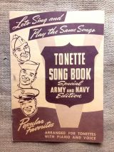 """Tonette song book"""" & """"Hit kit of populars songs"""" - USA Army"""